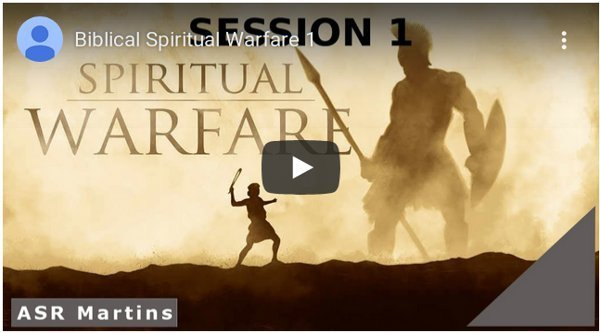 ASR Martins The Truth About Spiritual Warfare YouTube image