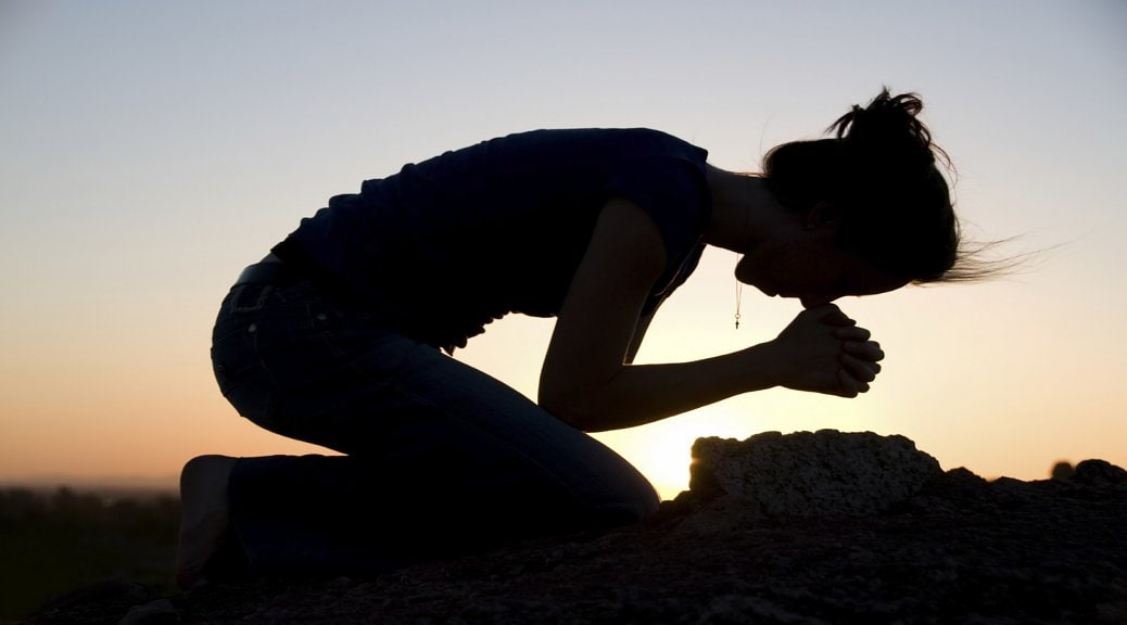 Christians need to be bold when it comes to prayer, even in public.
