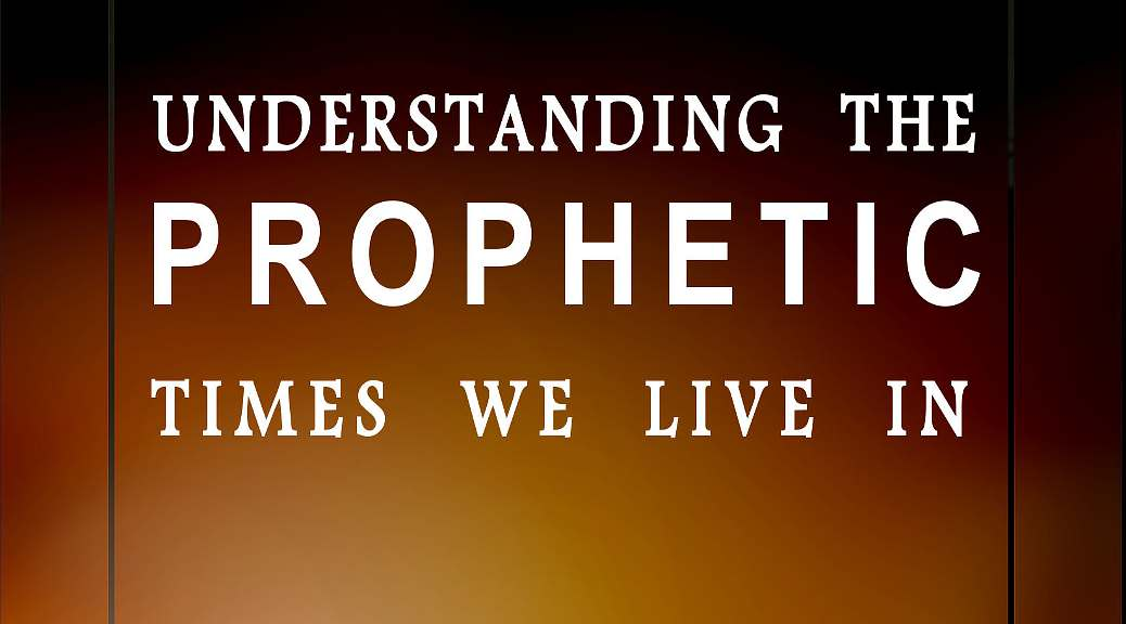 ASR Martins discusses the subject of understanding the prophetic times that we live in.
