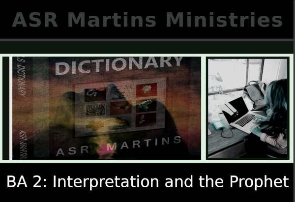 Dream Interpretation and the Prophet